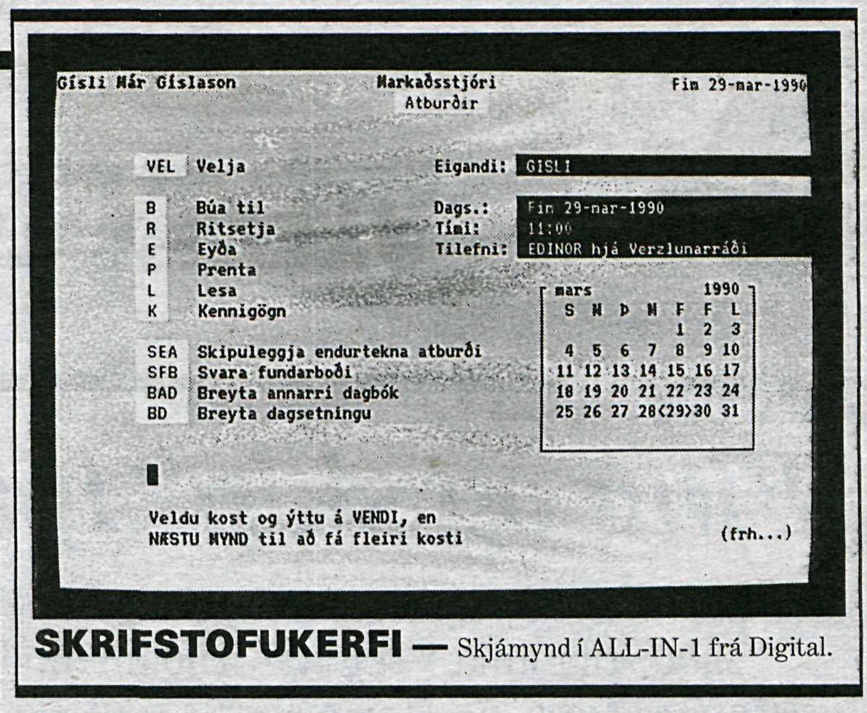 ALL IN 1 skjámynd 1990